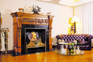Wooden Fireplace Surrounds - A 101