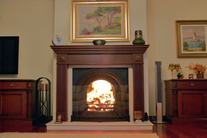 Wooden Fireplace Surrounds - A 104