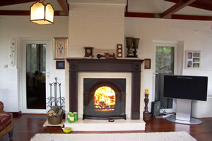 Wooden Fireplace Surrounds - A 105