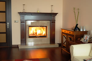 Wooden Fireplace Surrounds - A 106