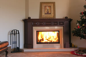 Wooden Fireplace Surrounds - A 107 A