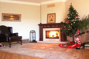 Wooden Fireplace Surrounds - A 107