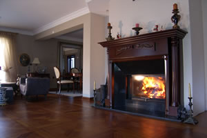 Wooden Fireplace Surrounds - A 108 A
