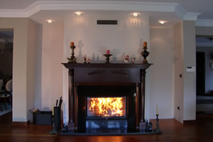 Wooden Fireplace Surrounds - A 108 B