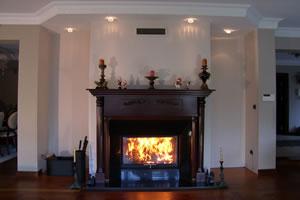 Wooden Fireplace Surrounds - A 108 B