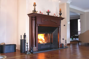 Wooden Fireplace Surrounds - A 108