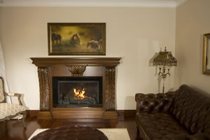 Wooden Fireplace Surrounds - A 109