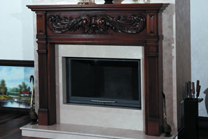Wooden Fireplace Surrounds - A 110