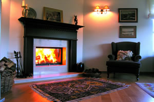Wooden Fireplace Surrounds - A 111