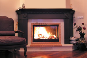 Wooden Fireplace Surrounds - A 112