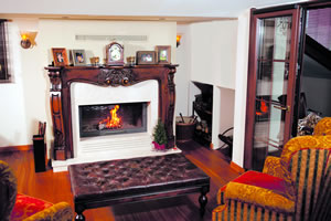 Wooden Fireplace Surrounds - A 113