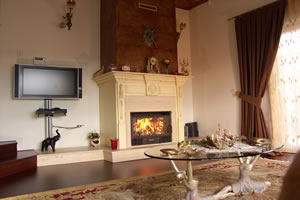 Wooden Fireplace Surrounds - A 114
