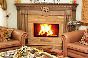 Wooden Fireplace Surrounds - A 115