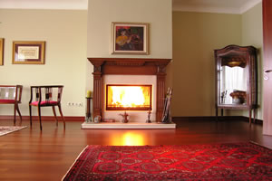 Wooden Fireplace Surrounds - A 116
