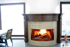 Wooden Fireplace Surrounds - A 117