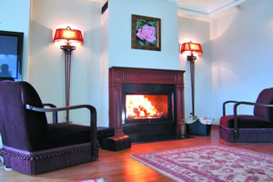 Wooden Fireplace Surrounds - A 118