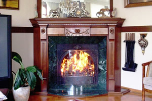 Wooden Fireplace Surrounds - A 119 A