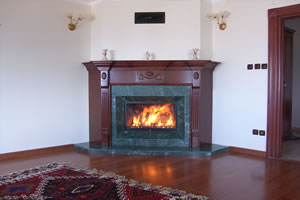 Wooden Fireplace Surrounds - A 119