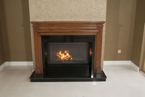 Wooden Fireplace Surrounds - A 120