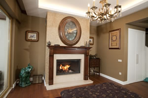Wooden Fireplace Surrounds - A 121 A