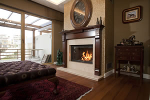 Wooden Fireplace Surrounds - A 121