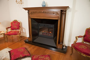 Wooden Fireplace Surrounds - A 122 A