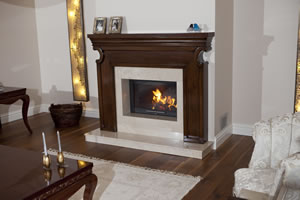 Wooden Fireplace Surrounds - A 123 A