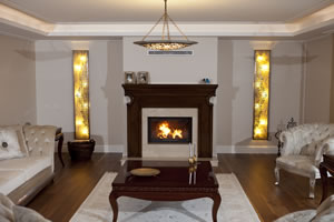 Wooden Fireplace Surrounds - A 123