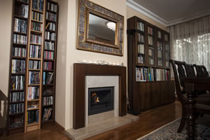 Wooden Fireplace Surrounds - A 124 A