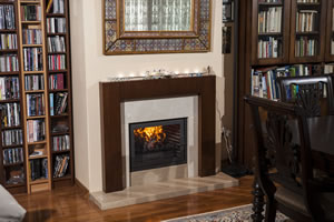 Wooden Fireplace Surrounds - A 124 B