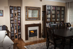 Wooden Fireplace Surrounds - A 124