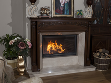 Wooden Fireplace Surrounds - A 125 A