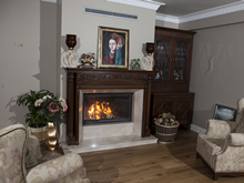 Wooden Fireplace Surrounds - A 125