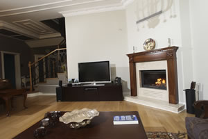 Wooden Fireplace Surrounds - A 126 A
