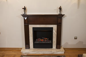 Wooden Fireplace Surrounds - A 127 A