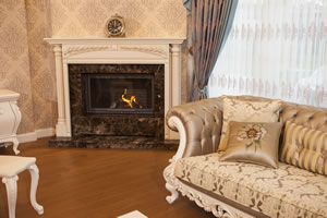 Wooden Fireplace Surrounds - A 128 A