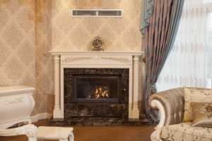 Wooden Fireplace Surrounds - A 128