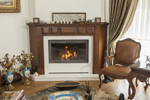 Wooden Fireplace Surrounds - A 129 A