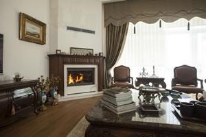 Wooden Fireplace Surrounds - A 129 B