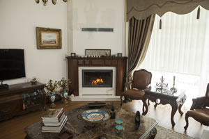 Wooden Fireplace Surrounds - A 129