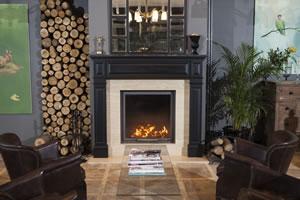 Wooden Fireplace Surrounds - A 130 B