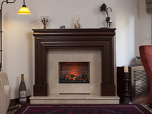 Wooden Fireplace Surrounds - A 131