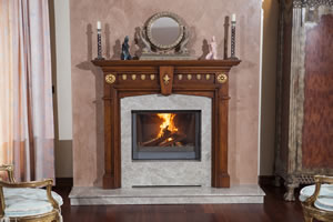 Wooden Fireplace Surrounds - A 132 A