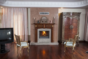Wooden Fireplace Surrounds - A 132