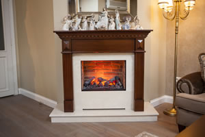 Wooden Fireplace Surrounds - A 133 B