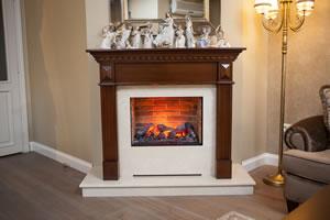 Wooden Fireplace Surrounds - A 133 B