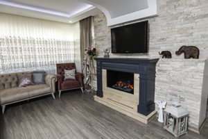 Wooden Fireplace Surrounds - A 134 A