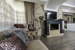 Wooden Fireplace Surrounds - A 134 B