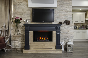 Wooden Fireplace Surrounds - A 134
