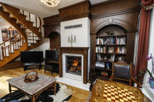 Wooden Fireplace Surrounds -  A 135 B